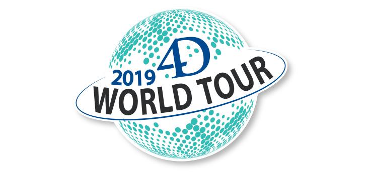 4D World Tour 2019 – Inscriptions ouvertes